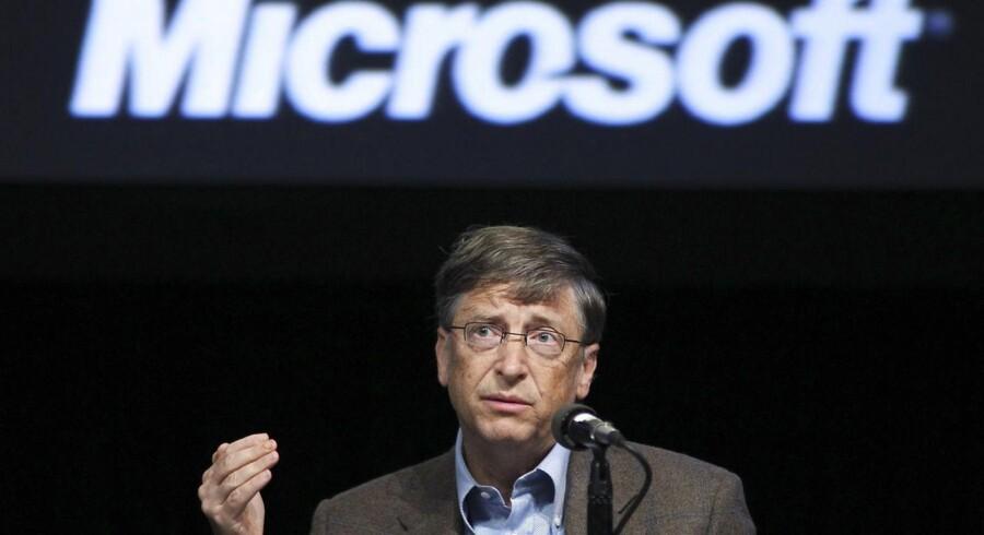 Microsofts bestyrelsesformand Bill Gates bør forlade sit gamle selskab helt og give plads til nye kræfter, mener tre store investorer. Arkivfoto: Anthony Bolante, Reuters/Scanpix
