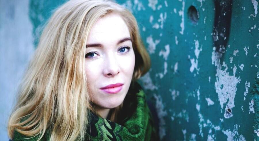 Sibylle Glosted modtager Reumert Talentprisen 2017.