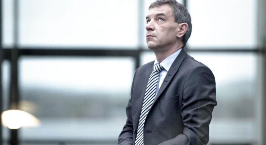 Lars Petersson, adm. direktør i Sparekassen Sjælland, sender i denne uge sin bank på børsen.