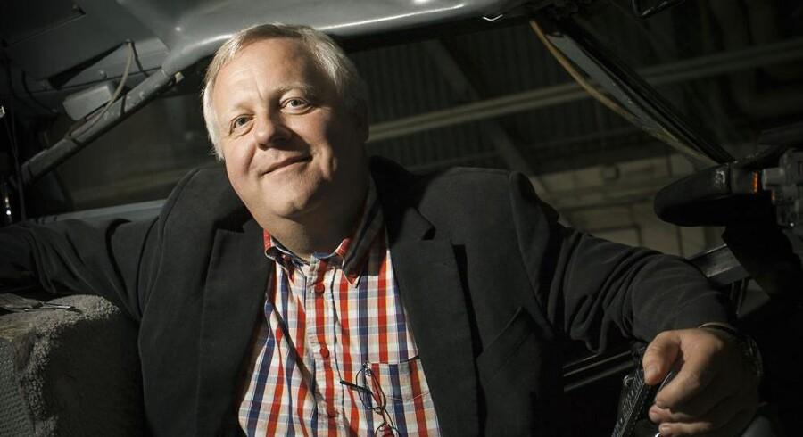 Administrerende direktør for Jet Time, Klaus Ren, fortryder sit ordvalg i en e-mail til medarbejderne om økonomiske udfordringer.