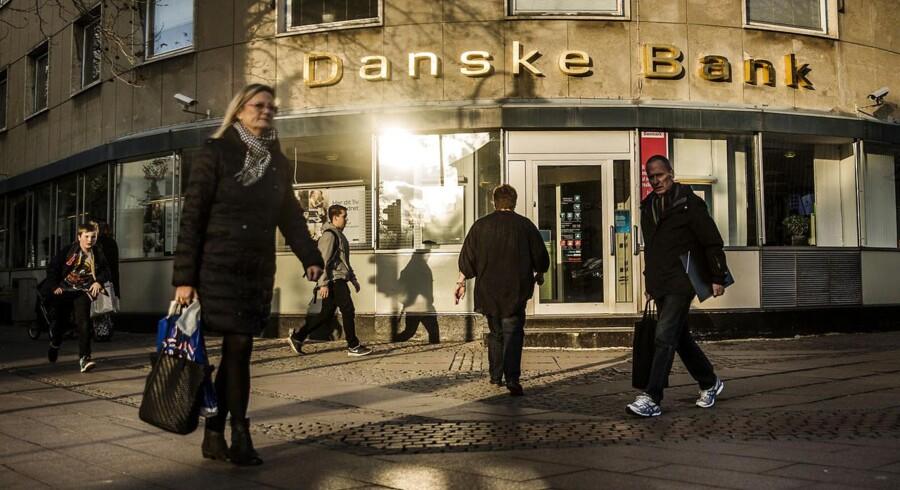 Danske Bank filial i Lyngby.