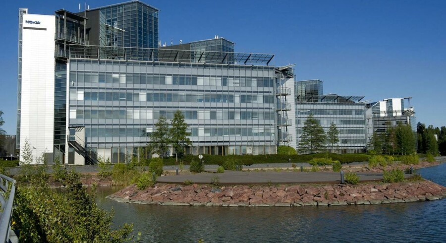 Nokias hovedkvarter i Espoo uden for Helsinki bliver nu Microsofts. Foto: Markku Ojala, EPA/Scanpix