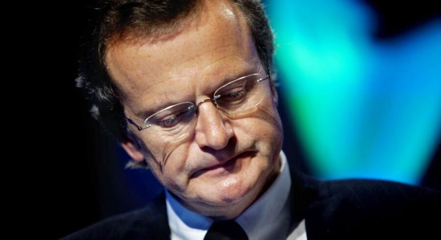Telenors koncernchef, Jon Fredrik Baksaas, har grund til bekymring. Arkivfoto: Scanpix