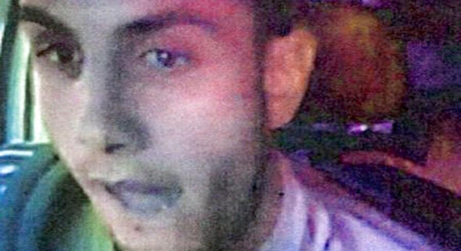 ARKIVFOTO af Abdel Hamid El-Hussein. Det er ikke muligt at bevise, at en 27-årig aarhusianer har haft til hensigt at billige terrorangrebet i København, da han skrev teksten »JE SUIS Omar« på sin facebookprofil, vurderer anklagemyndigheden.