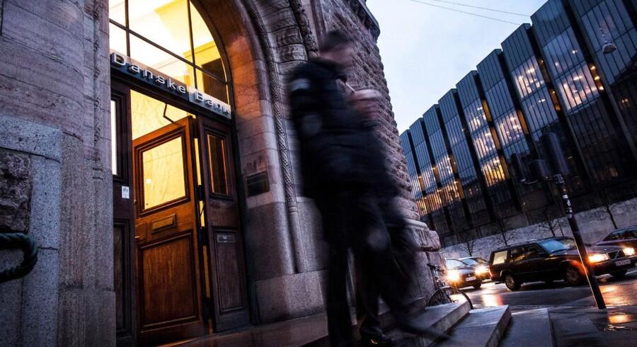 Danske Banks hovedkontor og Finanscenter ved Kongens Nytorv fotograferet d.2 februar 2015. (Foto: Simon Skipper/Scanpix 2015)