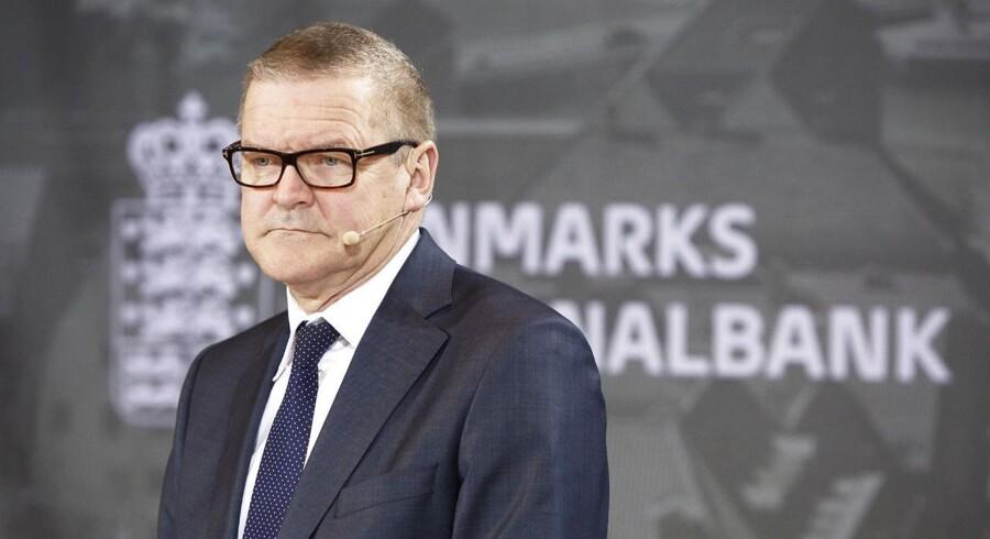 ARKIVFOTO 2014 af Nationalbankdirektør Lars Rohde