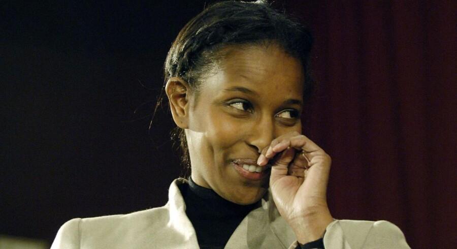 Arkivfoto. Ayaan Hirsi Ali.
