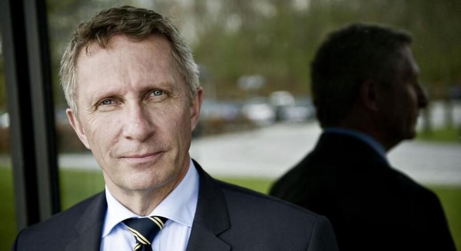 IBM, som spiller en hovedrolle i Se & Hør- og Nets-skandalen, får stadig færre ansatte under administrerende direktør Lars Mikkelgaard-Jensen. Foto: Torkil Adsersen, Scanpix