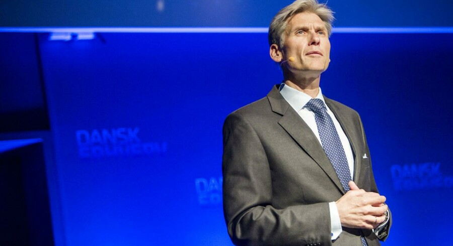 Danske Banks adm. direktør Thomas Borgen