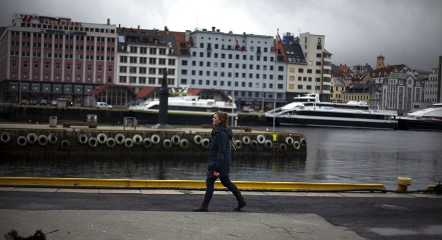 Bergen, Norge, 20. marts, 2012.
