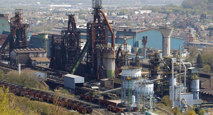 Arcelormittal, der er verdens største producent af stål.