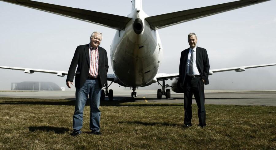 Danske Jet Time - vigtig underleverandør til SAS - kæmper med millionunderskud og har iværksat en akut redningsplan.