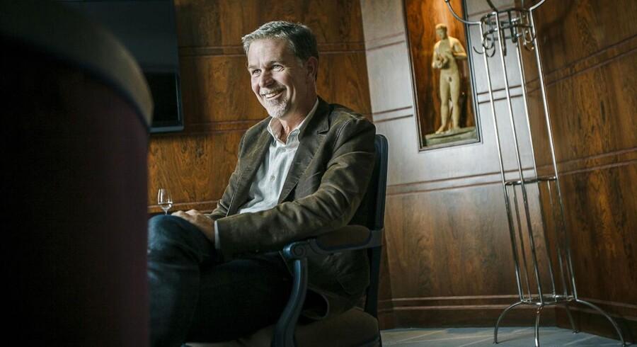 »Vi fokuserer på den nuværende situation og på, hvad vi kan gøre bedre. Det er ekstremt svært at se 10 eller 20 år frem i tiden, fordi udviklingen går så stærkt. I 1993 kunne man kun lige skimte internettet, og i dag er det dominerende. Hvem tør spå, hvordan tingene ser ud i 2033,« siger Reed Hastings.