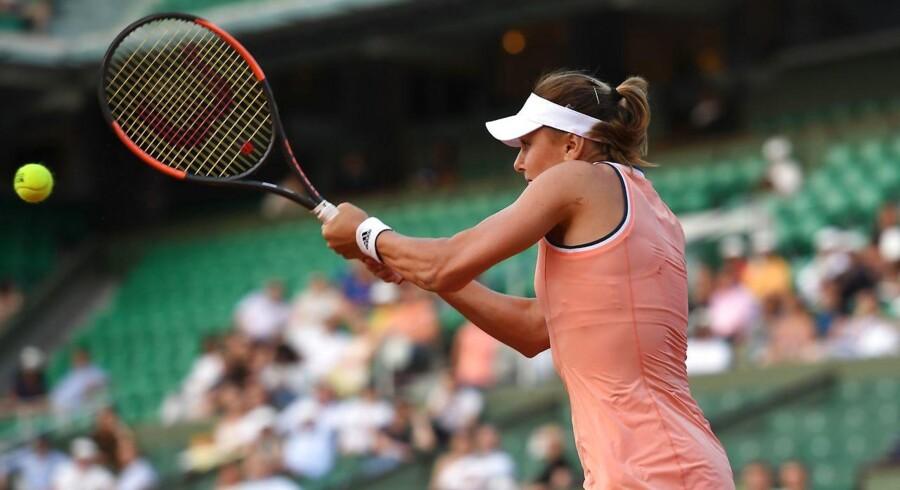 Sidste års vinder i damesingle røg meget overraskende ud af French Open i Paris allerede i første runde.