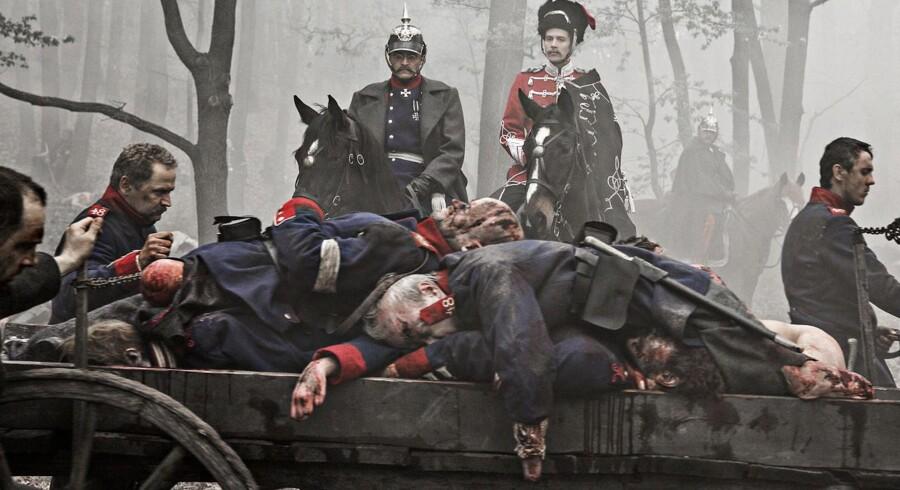Stillfotos fra tv-serien '1864'