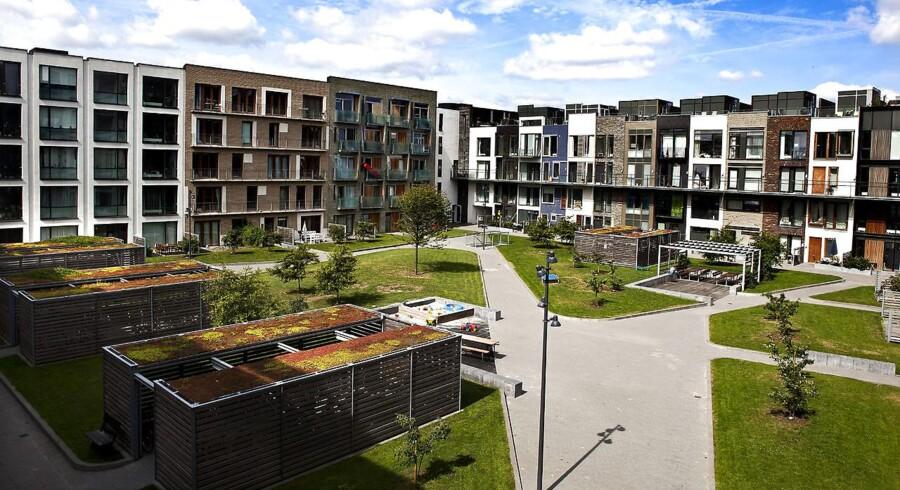 Der kan være flere årsager til, at boliger bliver solgt til en højere pris, end den er udbudt til, men ifølge Torben Hald, der er indehaver af flere Danbolig-forretninger, er det oftest beliggenheden, der kan skubbe prisen endnu højere op. Arkivfoto.