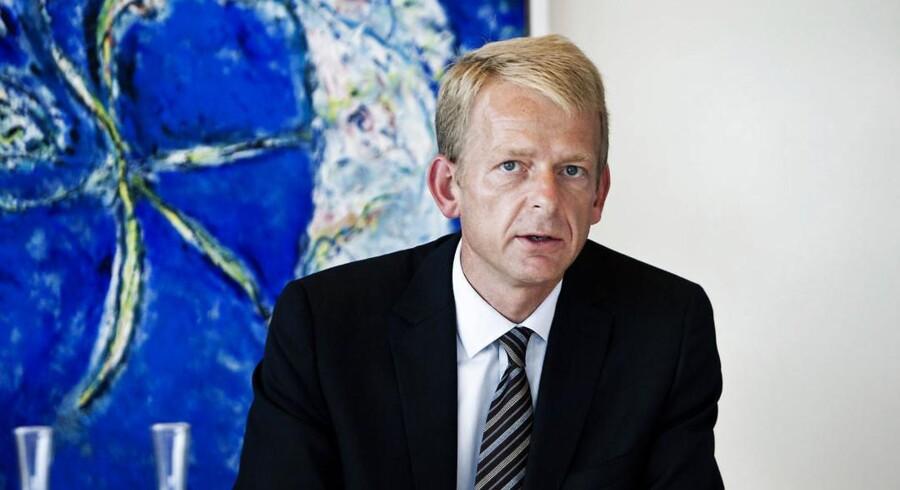 ARKIVFOTO. Bjarne Graven Larsen er tidligere topchef i FIH Erhvervsbank og før det fondsdirektør i ATP. Han tiltræder desuden som CFO i Novo A/S den 1. maj.