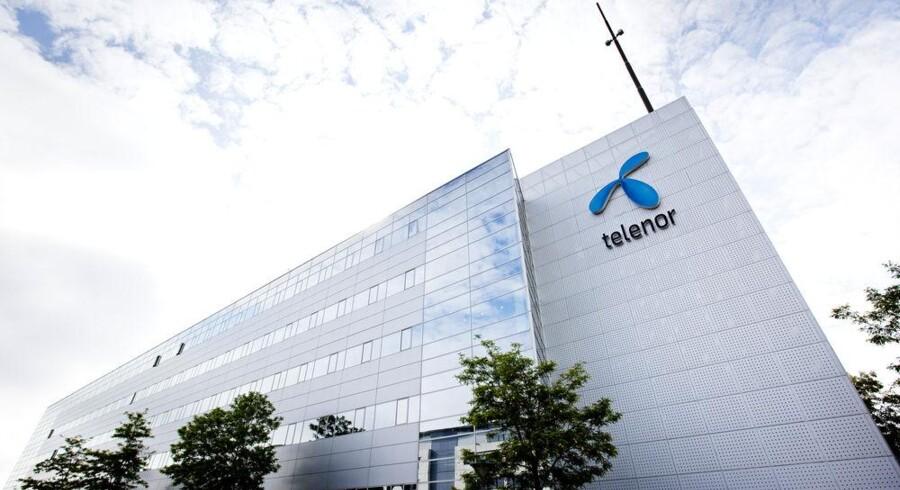 200 ansatte hos Telenor i Danmark mister i denne uge jobbet. Foto: Scanpix
