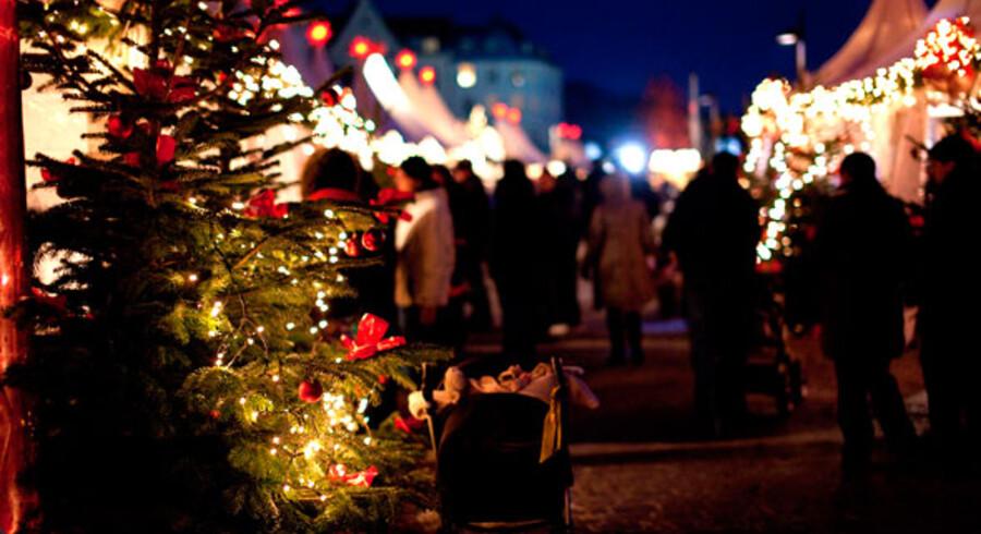 Julehyggen i den gamle hansestad Lübeck er så tyk, at man nærmest kan mærke det fysisk.