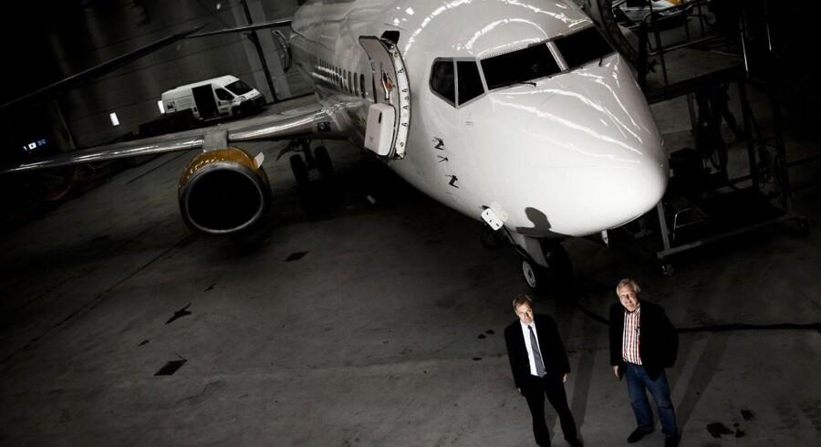 Danske JetTime lever - og lever godt - af at lease fly ud til blandt andet charterbranchen.