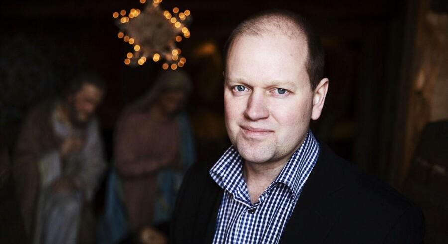 Morten Thomsen Højsgaard, DRs nye chef for tro og historie.