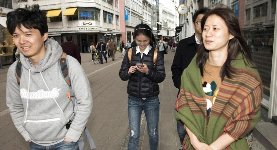 De kinesiske turister stormer til Danmark, og det er ikke kun de samme gruppetursturister, som der tidligere er kommet.