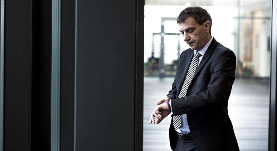 Administrerende direktør i Sparekassen Sjælland Lars Petersson planlægger en børsnotering i fjerde kvartal af 2015.