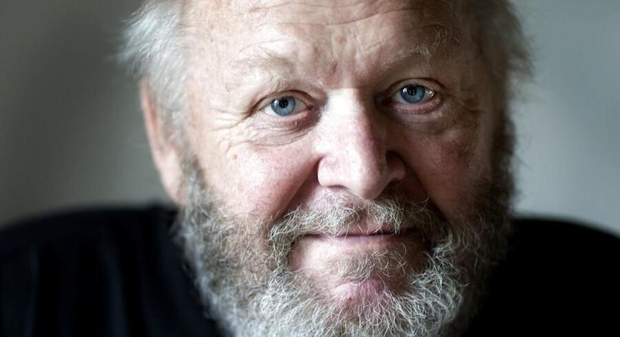 (ARKIV) Skuespiller, Jens Okking fotograferet den 9. juli 2008. Skuespiller Jens Okking er død. Det oplyser hans søn til Ritzau. Jens Okking blev 78 år.. (Foto: Jeppe Michael Jensen/Scanpix 2018)