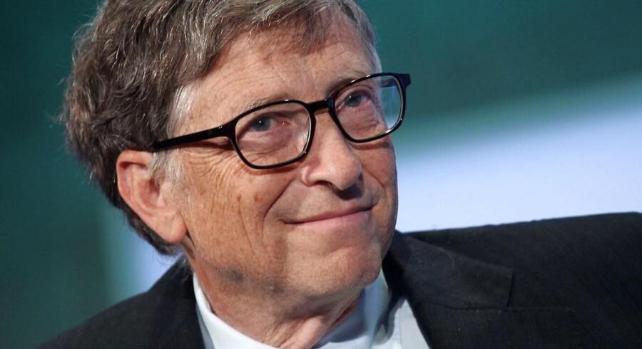 Microsoft-medstifteren Bill Gates er i dag storinvestor og en af verdens største filantroper.