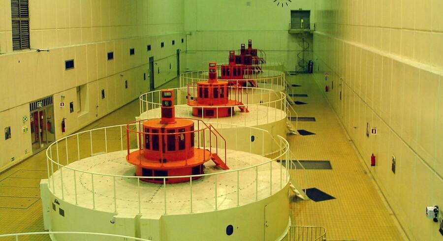 Burfell 210 megawatt vandkraftværk.