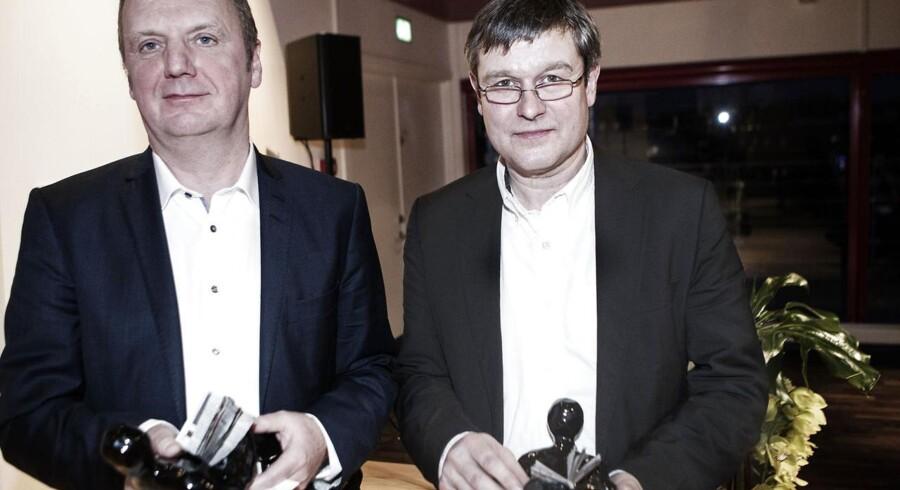 Årets modtagere af Den Berlingske Fonds Journalist- og hæderspris er fundet. En række kendte var mødt op til overrækkelsen i Pilestræde. Se billederne her.