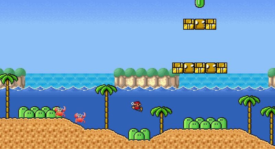 Foto: Screenshot, supermariobrosx.org.