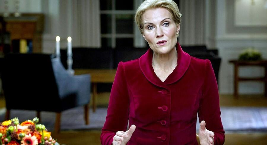 Statsminister Helle Thorning-Schmidts nytårstale 1. januar 2015 bliver hendes sidste inden folketingsvalget.