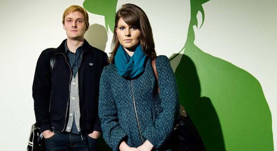 To studerende fortæller om det globale program på CBS - om ønsker og drømme. Ida Marie Møller Nordenstgaard og Jesper Damsgaard.