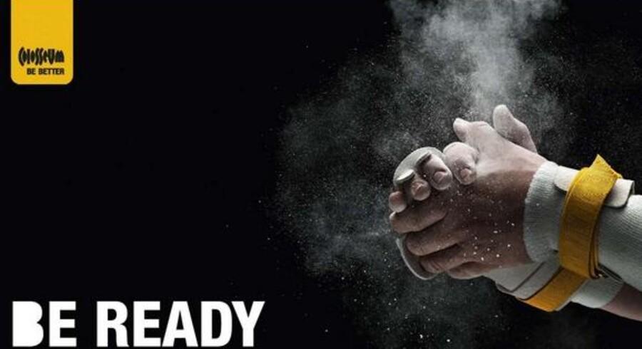 Her et foto fra en af Marketssquares kampagne for Colosseum-megastore.
