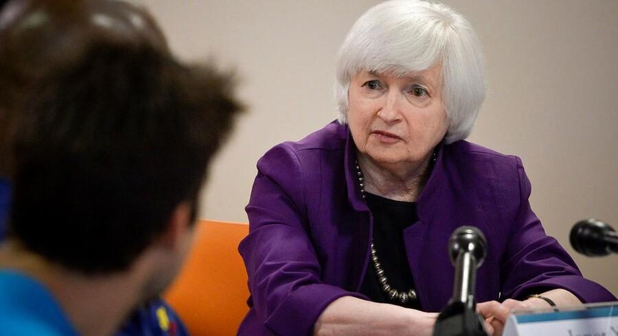 Centralbankchef Janet Yellen.