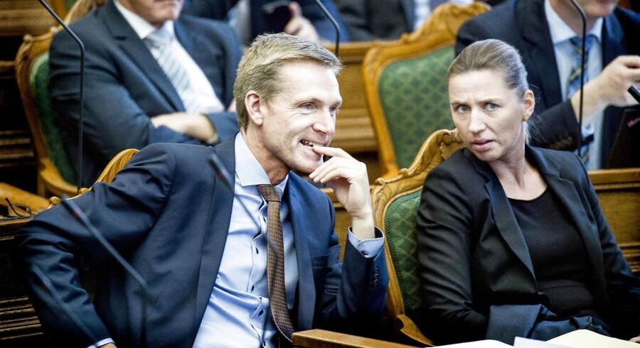 Kristian Thulesen Dahl og Mette Frederiksen har flere gange sat en kæp i hjulet på regeringens planer gennem de seneste par år. Nu gør de det igen.