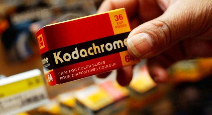 I 2009 stoppede produktionen af den legendariske Kodachrone-film. Kodak selv kæmper for sin overlevelse.