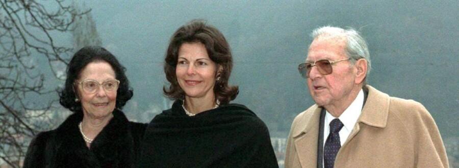 ARKIVFOTO. Dronning Silvia med sine forældre.