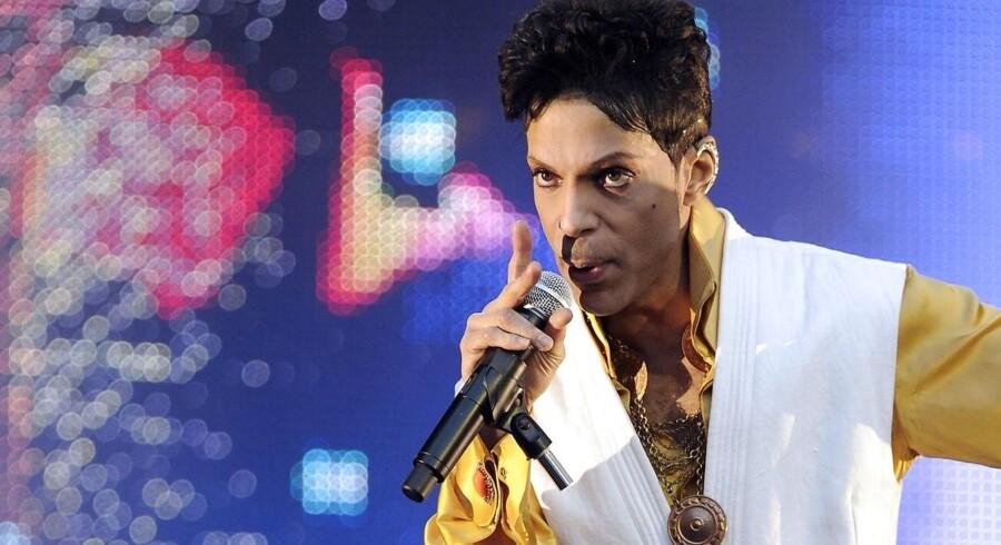 Prince - fortid på auktion.