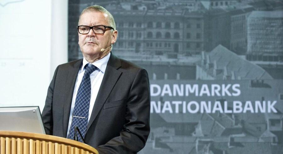 Nationalbankdirektør, formand for direktionen, Lars Rohde. (Foto: Jens Nørgaard Larsen/Scanpix 2014)