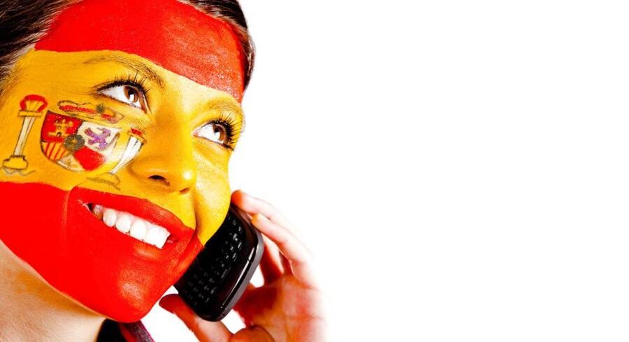 Der er blevet færre at ringe til i Spanien gennem de seneste måneder. Mobilkunderne fornyer ikke abonnementet. Foto: Iris/Scanpix