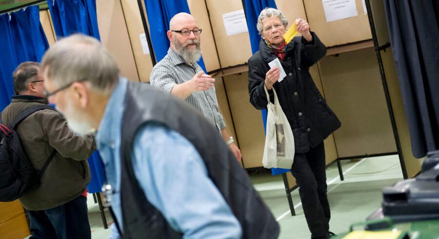 Borgene i Struer og Holstebro skal i dag også stemme om en kommunesammenlægning, udover at de også stemmer om EU-retsforbehold.