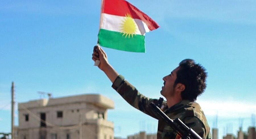 Terrorbevægelsen Islamisk Stat (IS) skal nu være blevet stort set trængt ud af byen Kobane. (Arkivfoto)