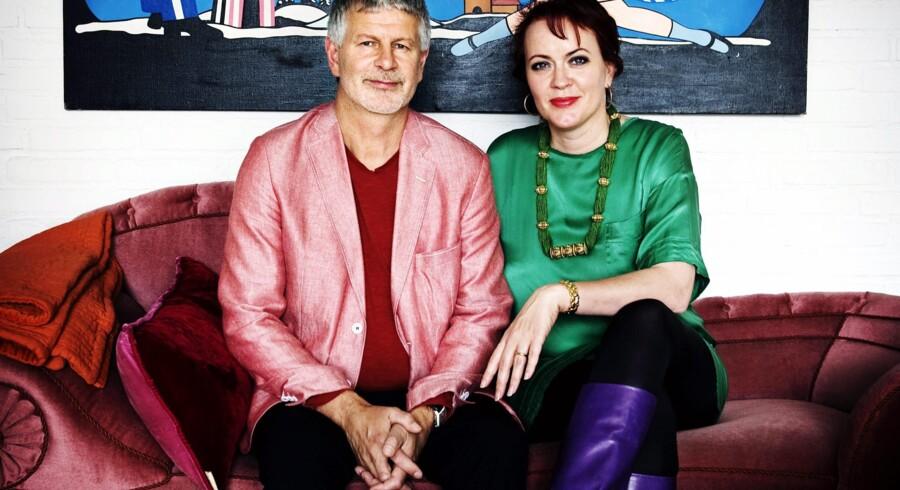 Lauritz.coms ejere, Mette Rode Sundstrøm og Bengt Sundstrøm, vil nu være ekstra opmærksomme på kopivarer, så man i fremtiden kan undgå en sag som den med Hästens-senge. Arkivfoto: Jenny Leyman