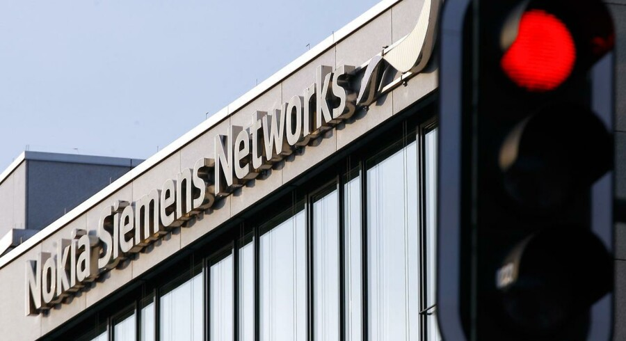 Nokia Siemens Networks (NSN) er en af verdens største leverandører af mobiludstyr. Nu er aftalen mellem de to ejere, Nokia og Siemens, udløbet. Arkivfoto: Michael Dalder, Reuters/Scanpix