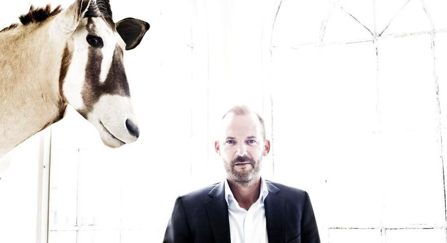 Administrerende direktør Kristian Kornerup har vendt Stryhns efter fusion og opkøb. Nu jagter han milliarden.