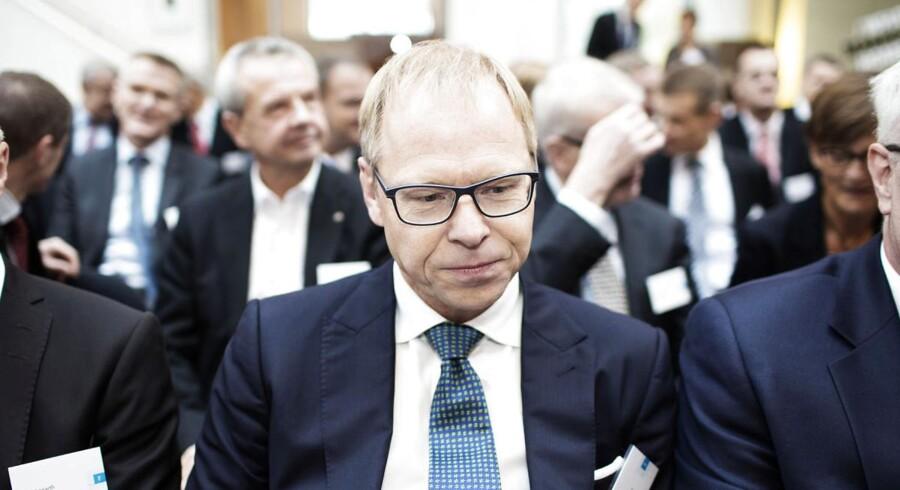 Michael Rasmussen, adm. direktør i Nykredit, må tage store tab på renteswaps.
