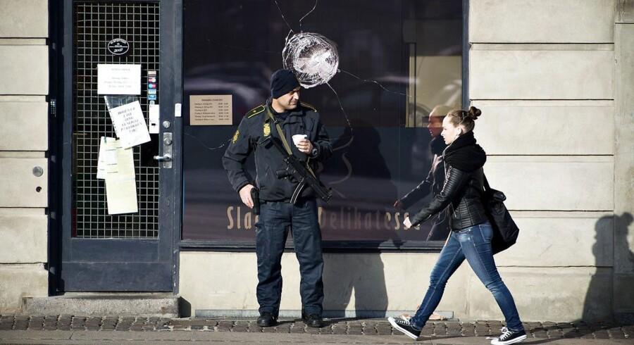 En jødisk delikatesseforretning på Lyngbyvej i København blev natten til torsdsag udsat for hærværk.