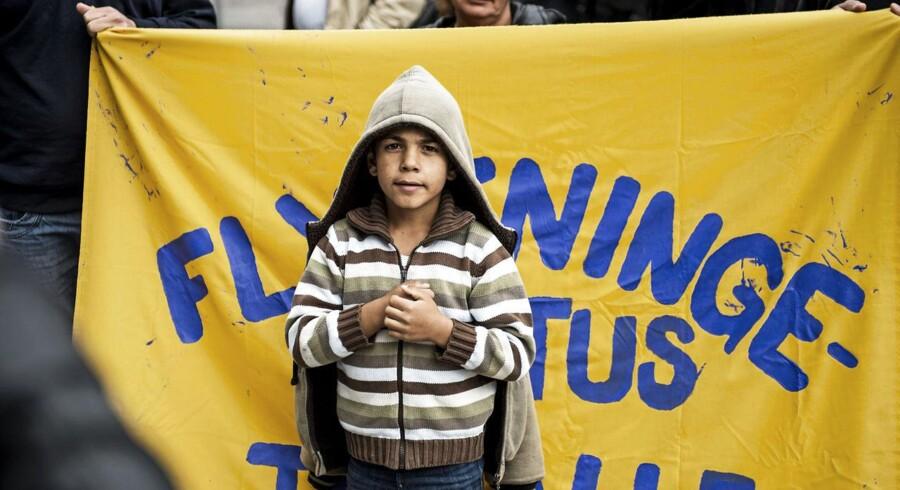 I 2012 indtog en større gruppe syriske flygtninge Flygtningenævnet og krævede, at alle syrere i Danmark anerkendes som flygtninge og tildeles asyl.